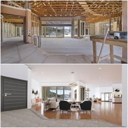 Living Room Virtual Construction