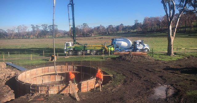 120,000 LTR underground concrete water t