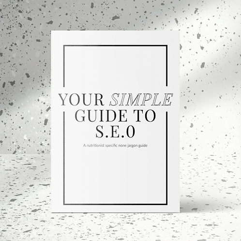 YOUR SIMPLE GUIDE TO SEO