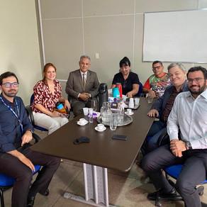 SEST SENAT Brasília se reúne com GDF para parceria em cursos no Renova DF 2022