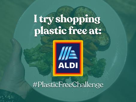 I tried shopping plastic free at Aldi