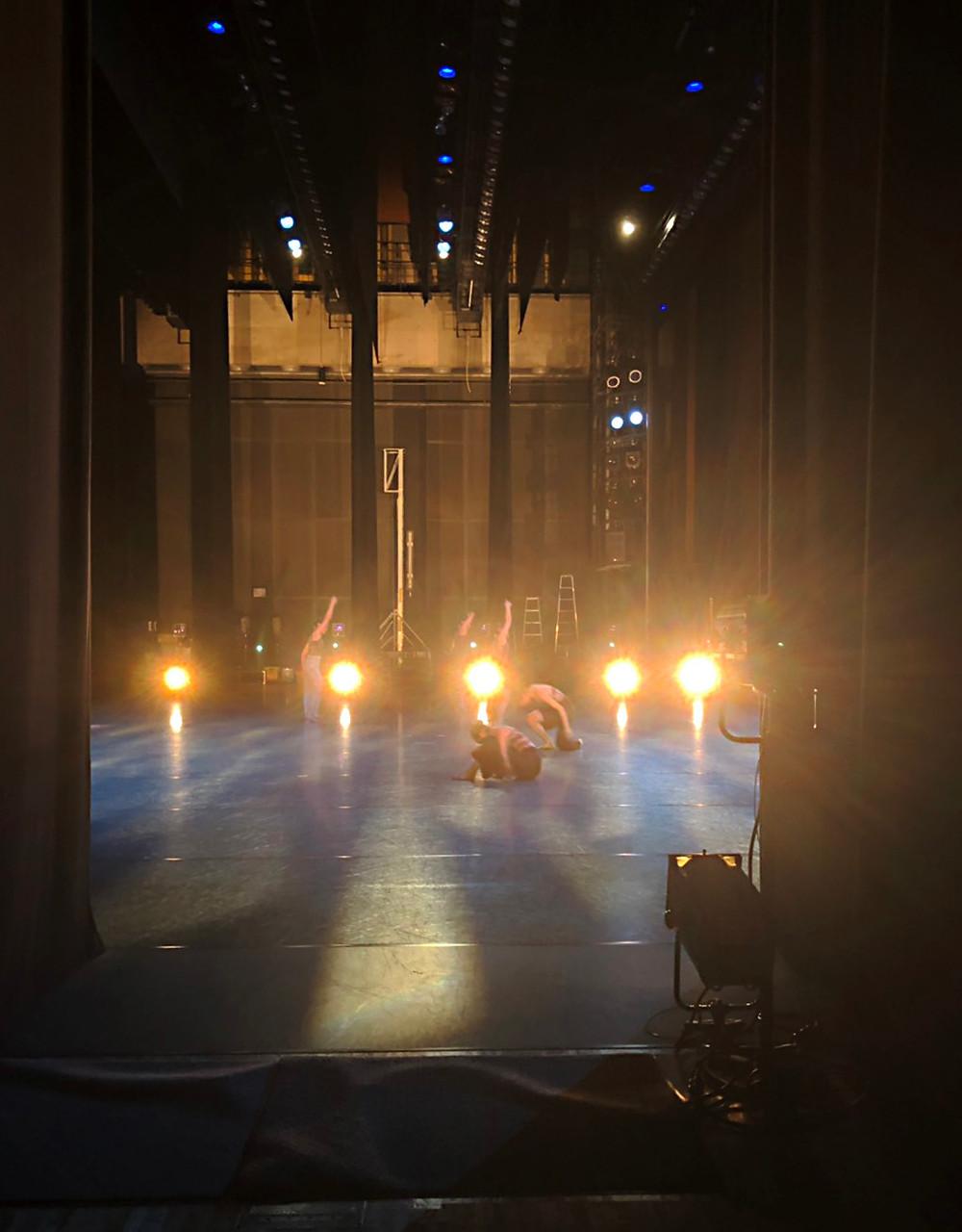 創作舞踊公演ステージ