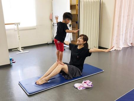 親子体操を試験的にやってみました!