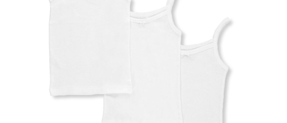 Marilyn Taylor - 3 Pack Cotton Camisoles