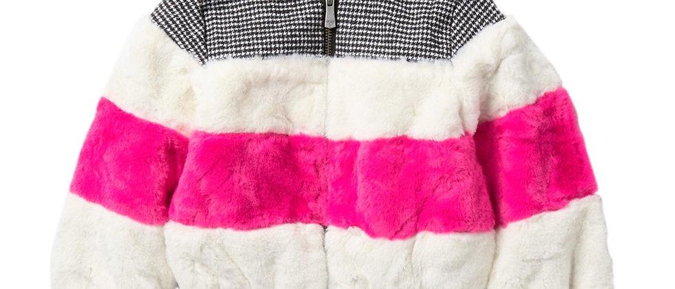Kensie Girl Faux Fur Bomber Jacket