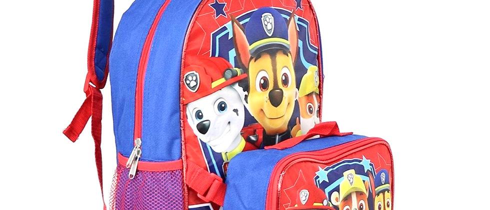 Paw Patrol Backpack w/ Lunch Bag
