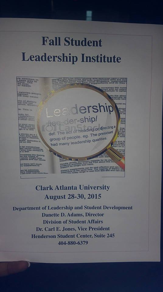 Leadership Institue Program Cover