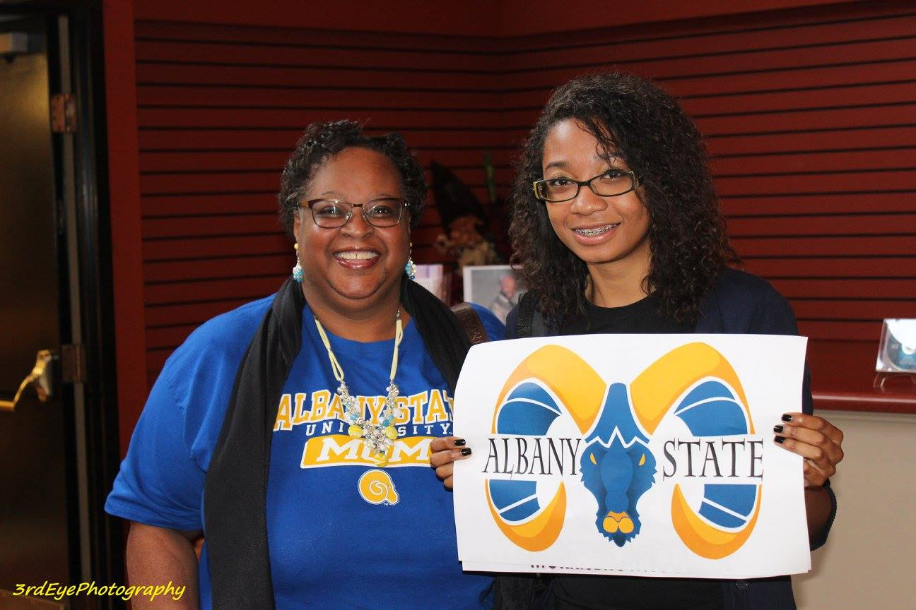 Repping Albany State Univ.