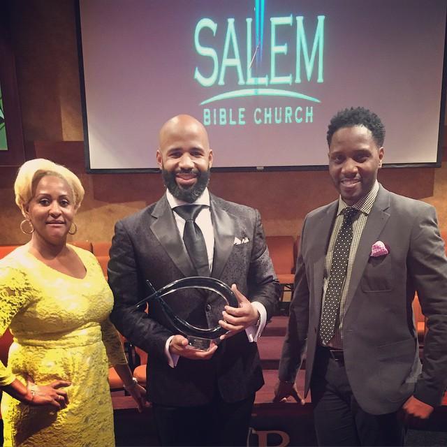 I Love My Pastor Award Presentation 06.14.15