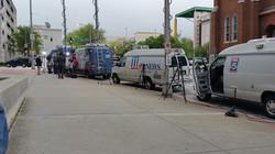 Media outside Fulton County Court