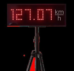 radar de calcul de vitesse