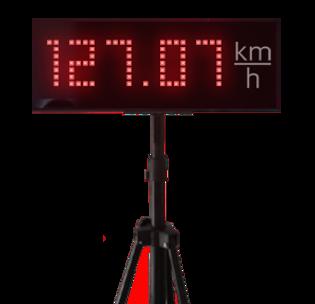 radar de performance de vitesse