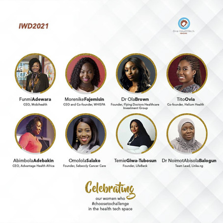 Eight Women Choosing To Challenge in Nigeria's Healthtech Space