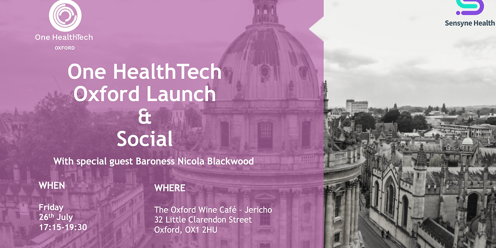 Oxford Launch & Social