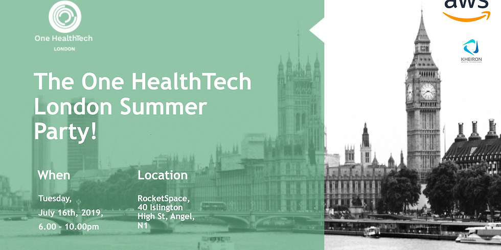 One HealthTech London Summer Party