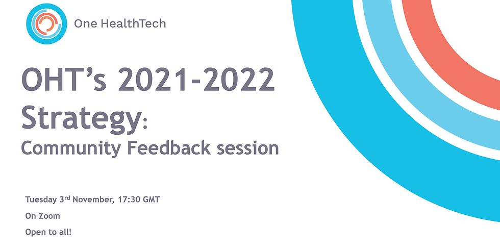OHT's New Strategy: Community Feedback Session