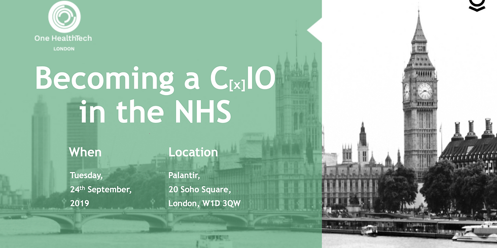 Becoming a CIO in the NHS (London)
