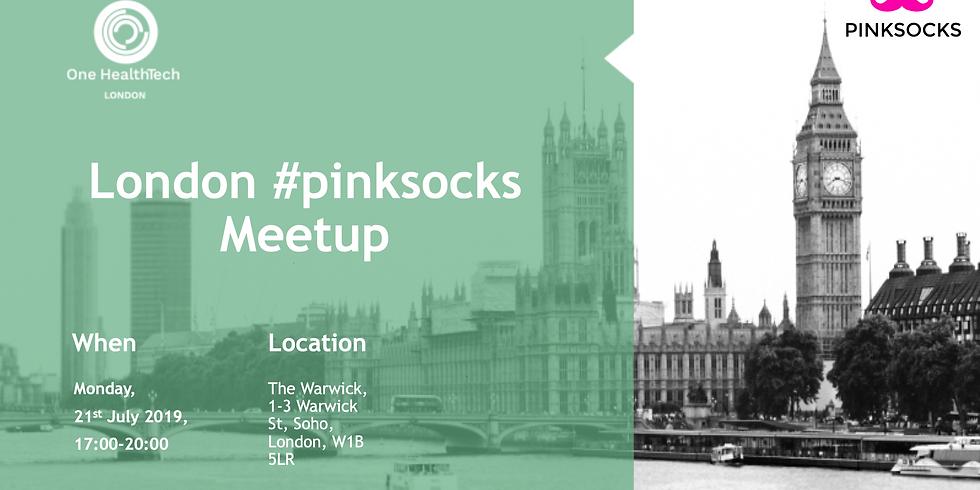 London #pinksocks Meetup