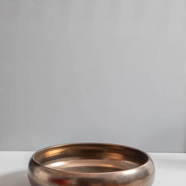 Tacho bronze para orquídeas