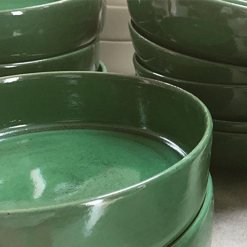 Travessa redonda em cerâmica