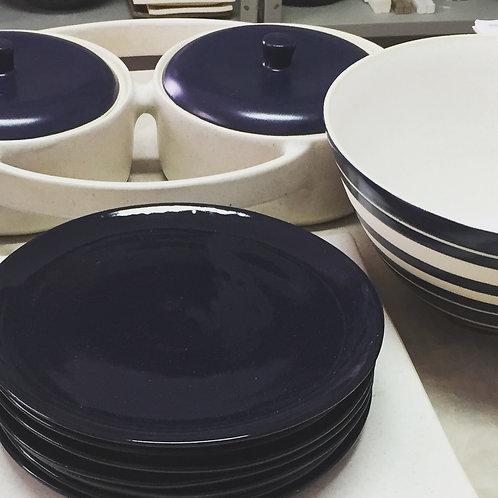 Conjunto de pratos + bowl