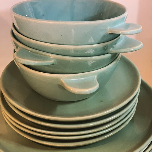 Pratos (raso + sobremesa + bowl)