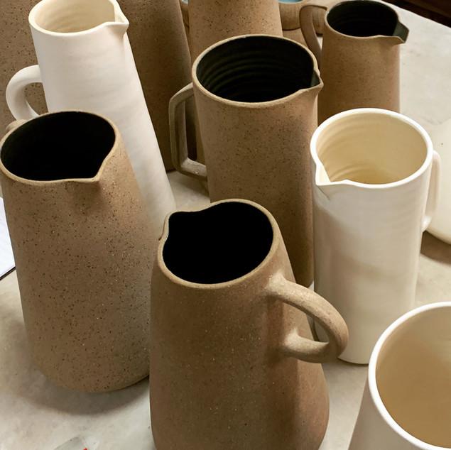 Jarras em cerâmica