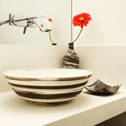 Cuba de porcelana para banheiro
