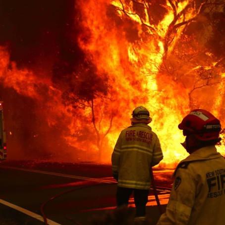 On A Serious Note: Australia Burns