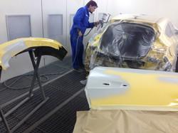 Opel Astra кузовной ремонт