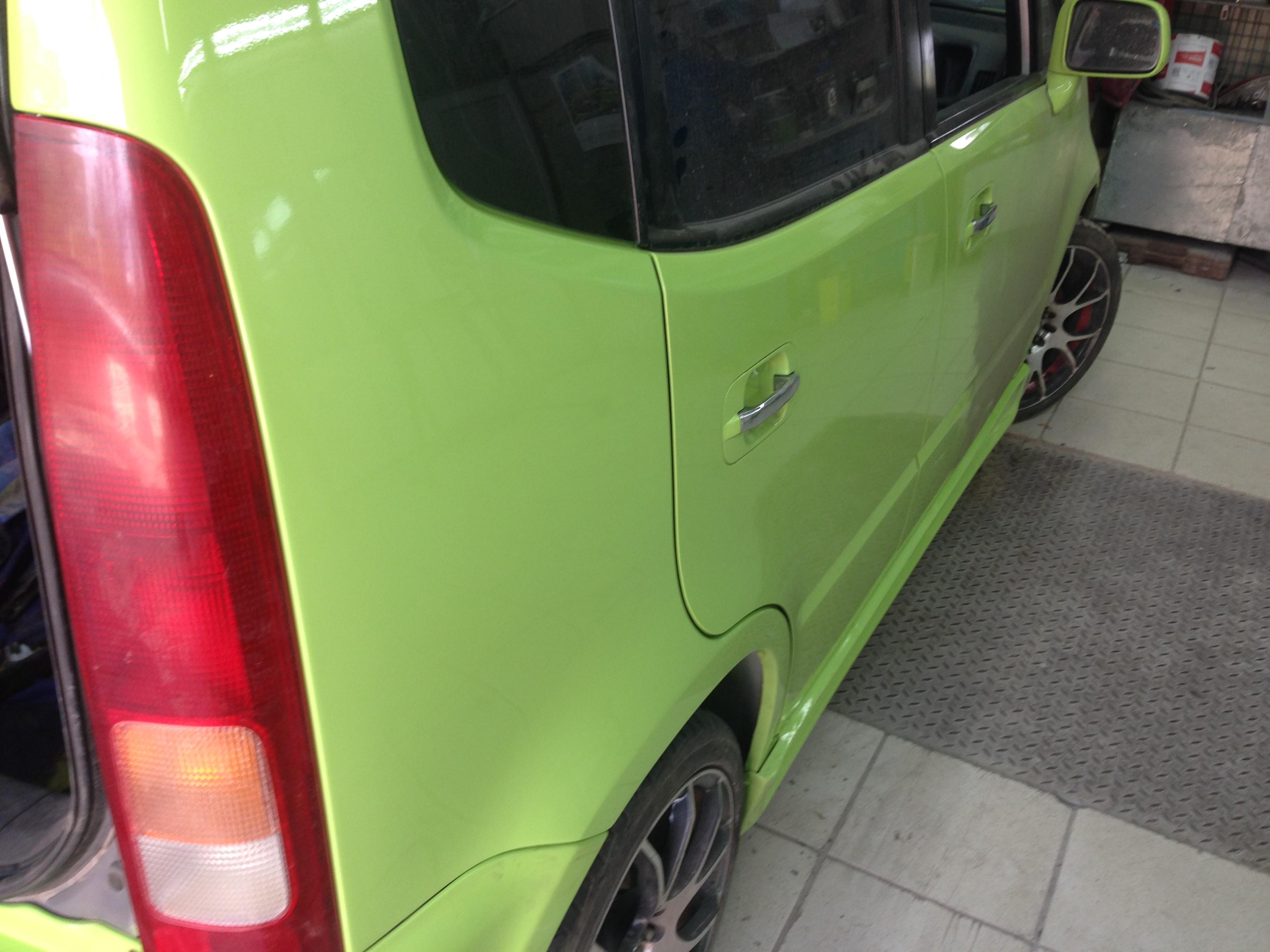 Honda Capa кузовной ремонт