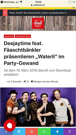 Deejaytime feat Fäaschtbänkler
