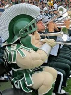 Sparty trombone