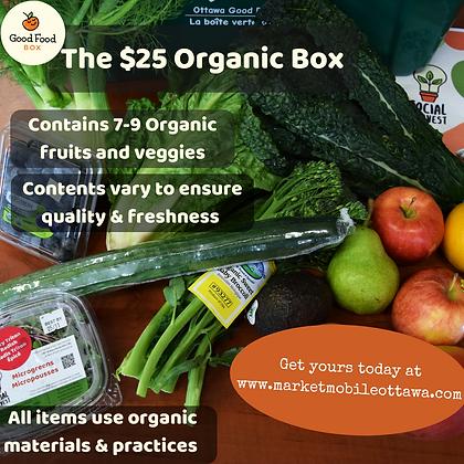 $25 Organic Box