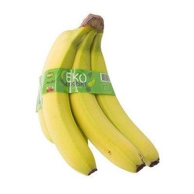 Bananas / Bananes, Organic (bunch of 4)