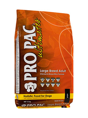 PRO PAC ® Ultimates ™ Large Breed Adult Chicken Meal & Brown Rice, 20KGS