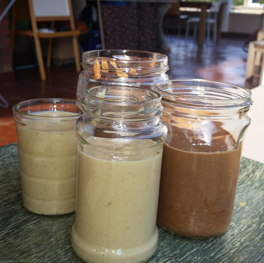 Jars of Nut Stuff