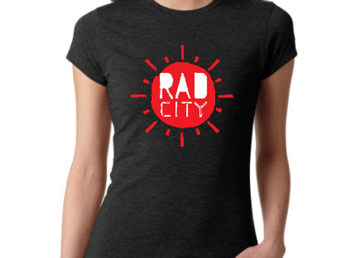 RAD CITY sunshine logo tee