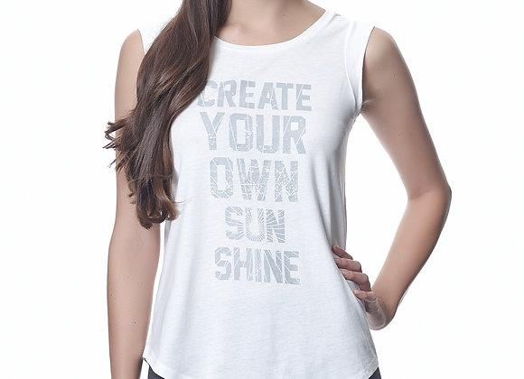 Create Your Own Sunshine Cap Sleeve Tee