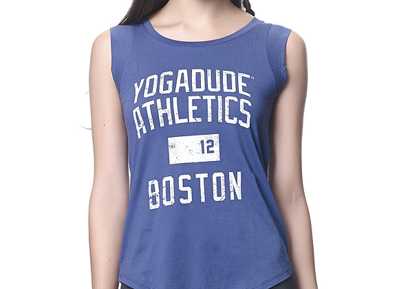 Yogadude Athletics Boston Cap Sleeve Tee