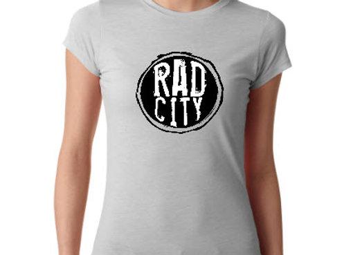 RAD CITY circle logo tee
