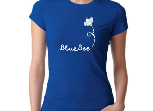 Blue Bee logo B tee