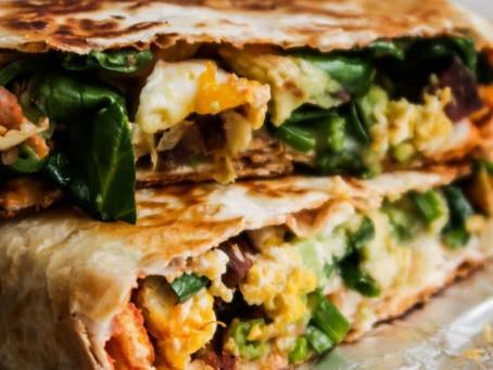 ¡¡Burrito saludable para el desayuno!!