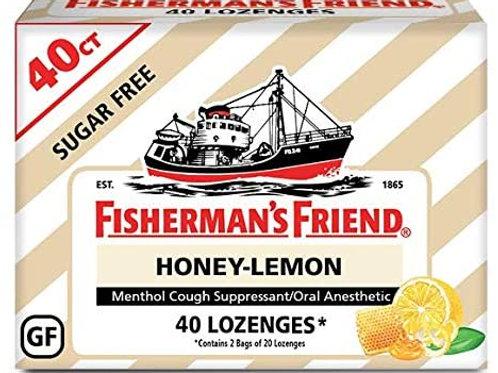 Fisherman's Friend Cough Drops, 5.5mg Menthol, 40 Count