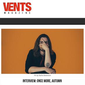 Vents Magazine Interview