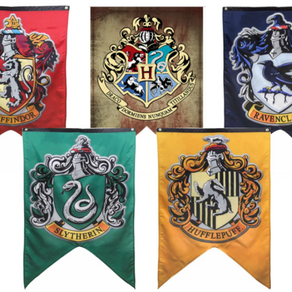 The Four Houses of Hogwarts School of Witchcraft And Wizardary