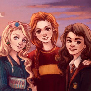 Who is Ginny Weasley closer to, Hermione Granger or Luna Lovegood?