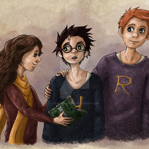 Who wins in a fight between Harry Potter, Hermione Granger, and Ron Weasley?