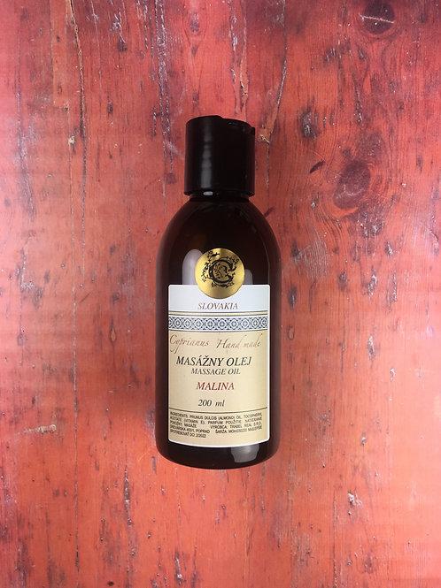 Mandľový olej malina 200 ml