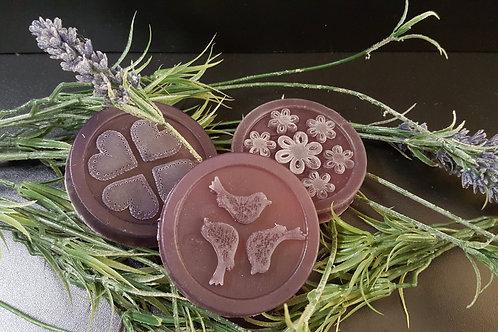 Gycerínové mydlo levanduľa kruh